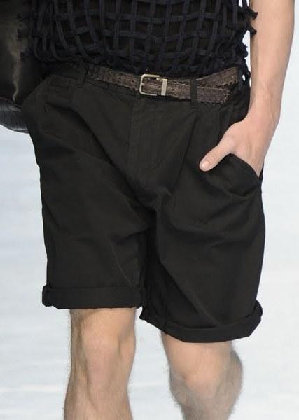 2012 Dolce Gabbana Summer Washed Cotton Shorts for Men