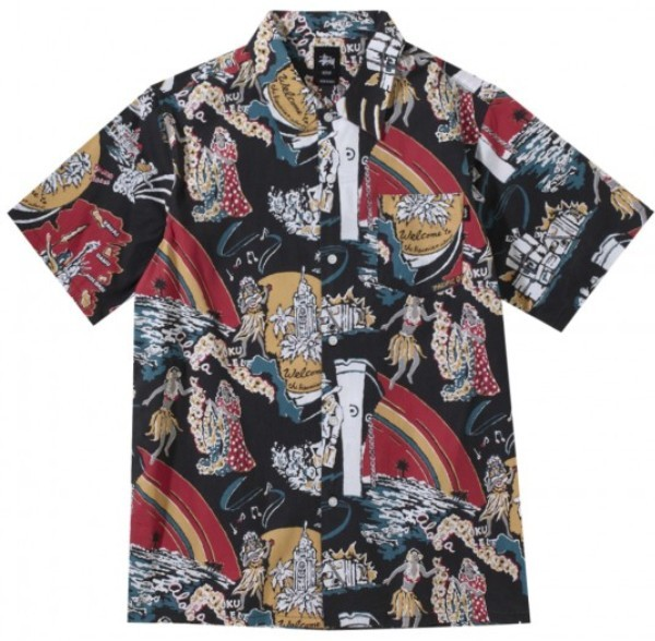 2012 Stussy Hawaiian Summer Shirt Collection for Men
