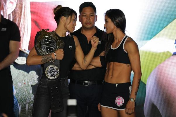 Angela Lee, Victor Cui, Istela Nunes (©ONE Championship)