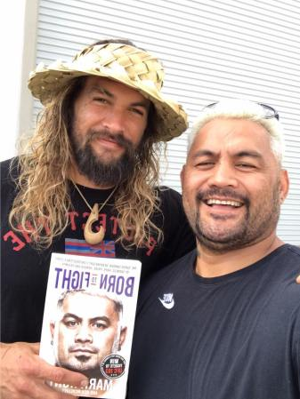 Jason Momoa, Mark Hunt