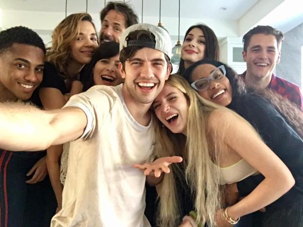 'Famous In Love' cast