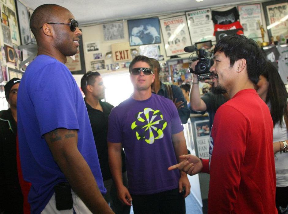 Kobe Bryant, Manny Pacquiao
