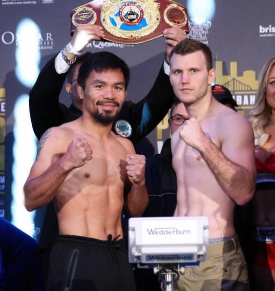 Manny Pacquaio, Jeff Horn