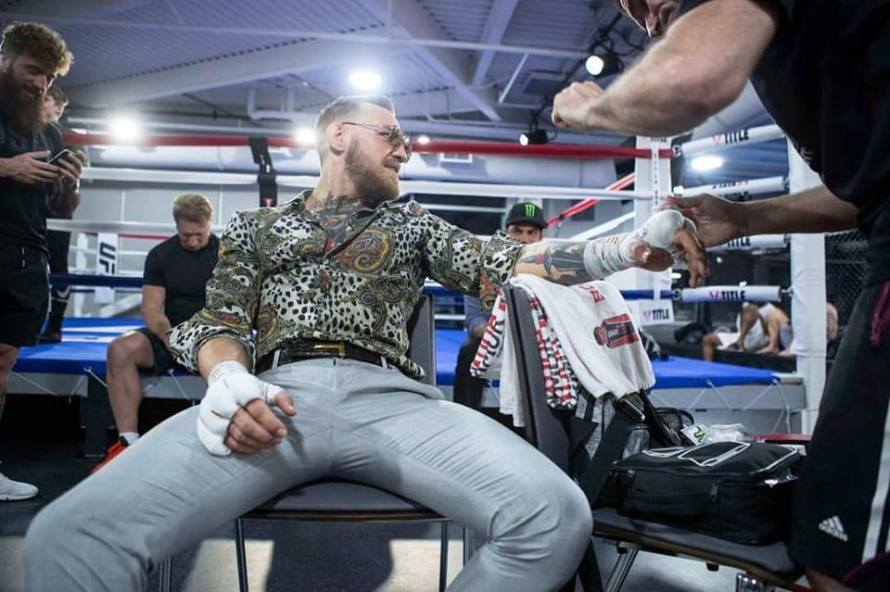 Conor McGregor (Conor McGregor/Facebook)