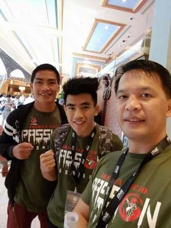 Edward Folayang, Joshua Pacio, Mark Sangiao