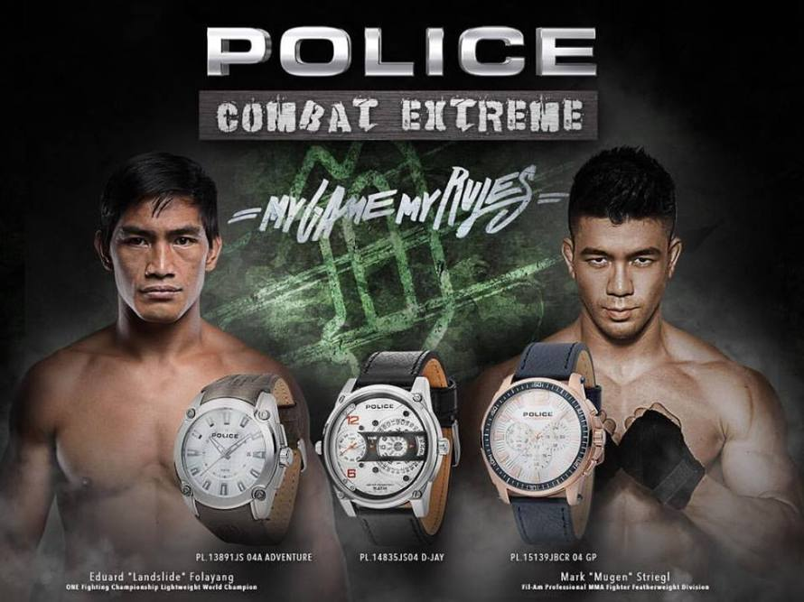 Edward Folayang, Mark Striegl