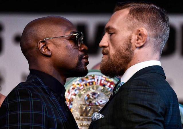 Floyd Mayweather Jr, Conor McGregor (Conor McGregor/Facebook)