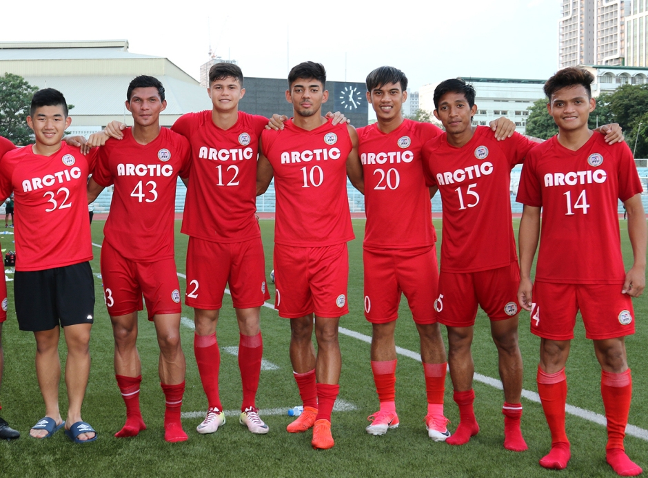 Davao Aguilas FC players, proud representatives of the Philippines at the upcoming SEA Games to be held in Kuala Lumpur, Malaysia