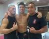 Yuji Hoshino, Mark Striegl, AJ Pyro