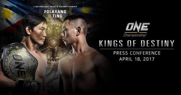 Eduard Folayang, Ev Ting (ONE Championship/Facebook)