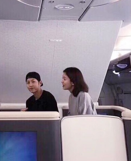 Song Joong Ki, Song Hye Kyo (songjoongkionly/Instagram)