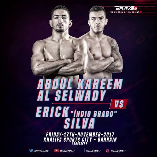 Abdul Kareem Al Selwady, Erick Silva