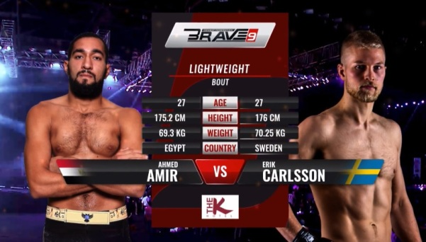 "Ahmed ""The Butcher"" Amir, Erik ""Last Viking"" Carlsson"