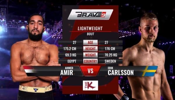 "Ahmed ""The Butcher"" Amir, Erik ""Last Viking"" Carlsson"