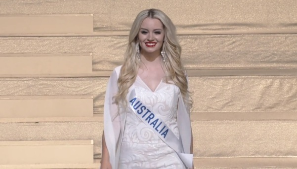 Miss International Australia 2017 Amber Dew