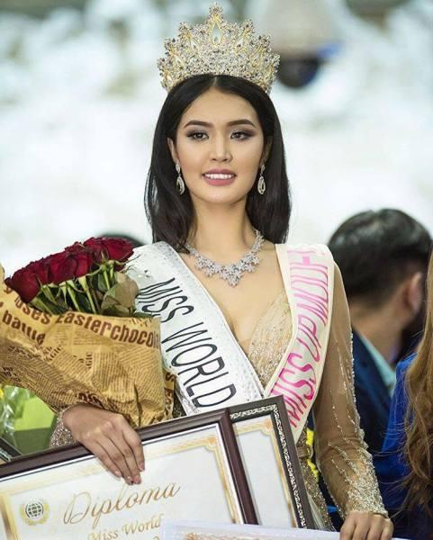 Begimay Karybekova (Facebook/Miss World)