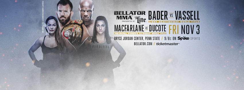 Bellator 186 (Facebook/Bellator MMA)