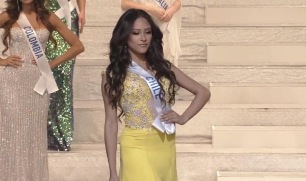 Miss International Chile 2017 Estefania Galeota