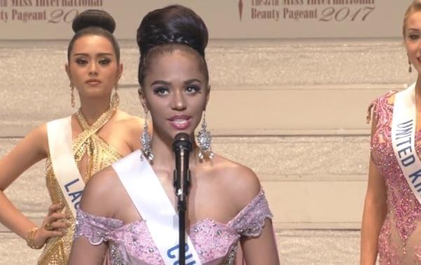 Miss International Curacao 2017 Chanelle De Lau
