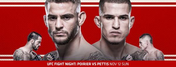 Dustin Poirier vs Anthony Pettis (Facebook/UFC)