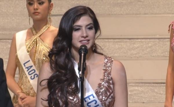 Miss International Ecuador 2017 Jocelyn Mieles