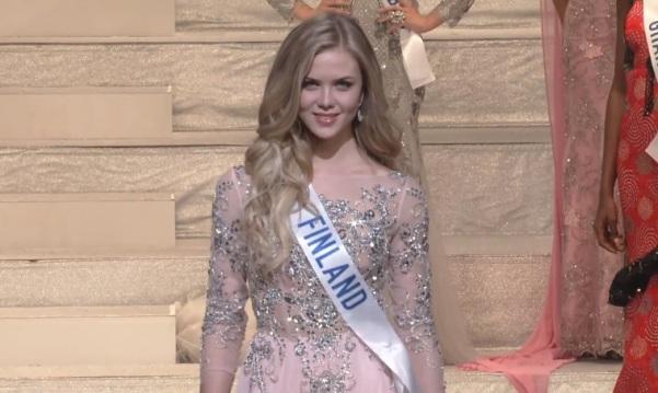 Miss International Finland 2017 Pihla Koivuniemi
