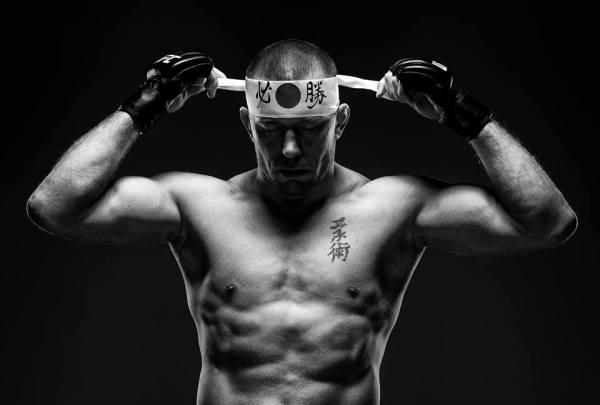 George St. Pierre (Facebook/UFC)