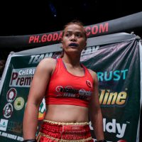 Team Lakay's Gina Iniong vs Jenny Huang at 'ONE: Heroes of Honor'