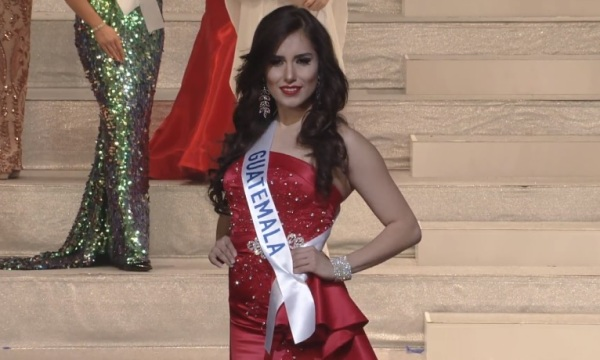 Miss International Guatemala 2017 Ana Lucia Villagran
