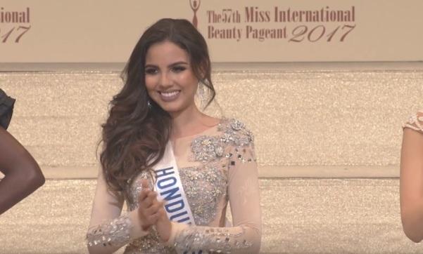 Miss International Honduras 2017 Vanessa Villars