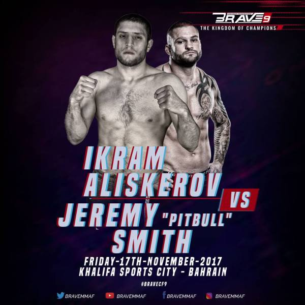 "Ikram Aliskerov, Jeremy ""Pitbull"" Smith"