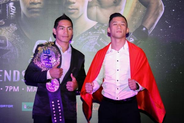 Eduard Folayang, Martin Nguyen