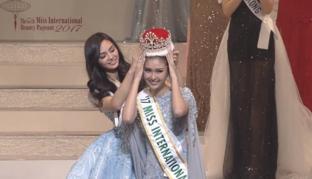 Miss International 2016 Kylie Versoza, Miss International 2017 Kevin Lilliana