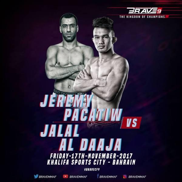 Jalal Al Daja, Jeremy Pacatiw