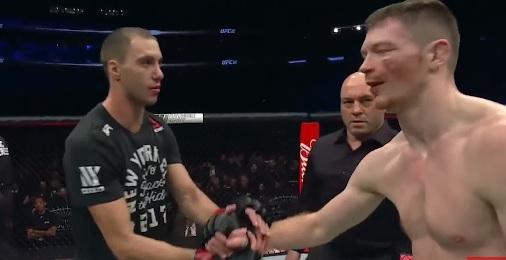 James Vick, Joe Rogan, Joe Duffy (YouTube/UFC- Ultimate Fighting Championship)