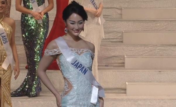 Miss International Japan 2017 Natsui Tsutsui