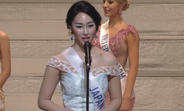 Miss International Japan 2017 Natsui Tsutsui