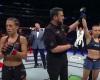 Joanna Jedrzejczyk, John McCarthy, Rose Namajunas (YouTube/UFC- Ultimate Fighting Championship)