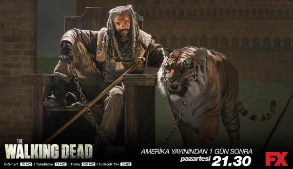 Khary Payton as Ezekiel (Facebook/The Walking Dead)