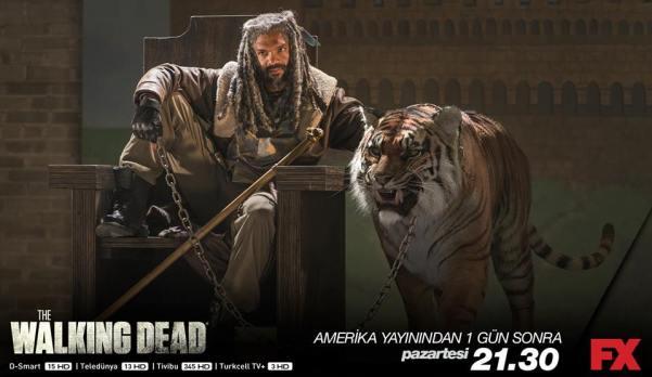 Khary Payton as Ezekiel (Facebook/The Walking Dead)