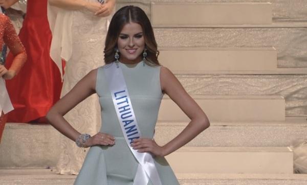 Miss International Lithuania 2017 Patricija Belousova