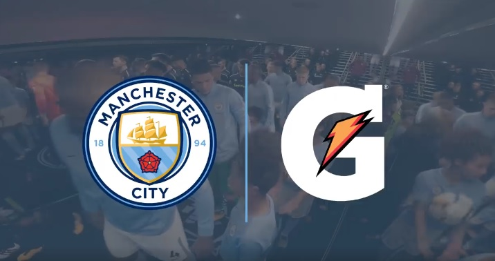 Manchester City, Gatorade (Facebook/Manchester City)