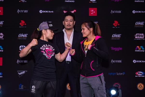 Mei Yamaguchi, Chatri Sityodtong, Gina Iniong 2