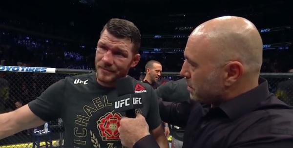 Michael Bisping, Joe Rogan (YouTube/UFC- Ultimate Fighting Championship)