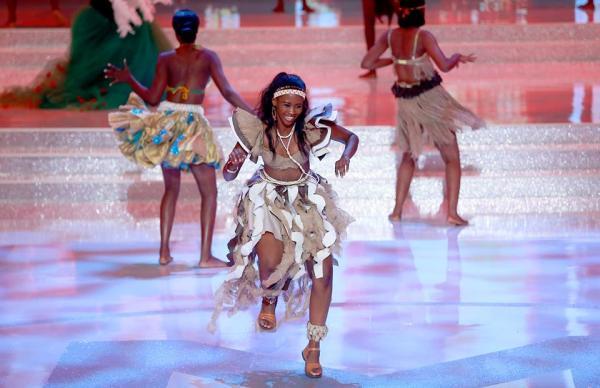 Miss Botswana Nicole Gaelebale