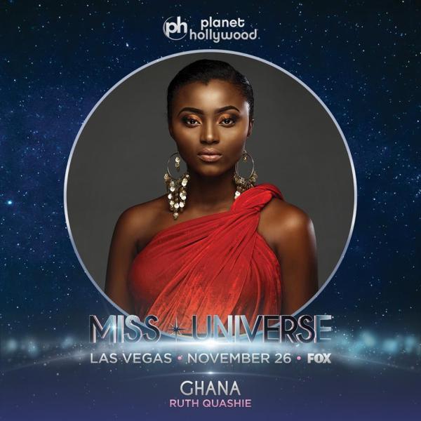 Miss Ghana Ruth Quashie