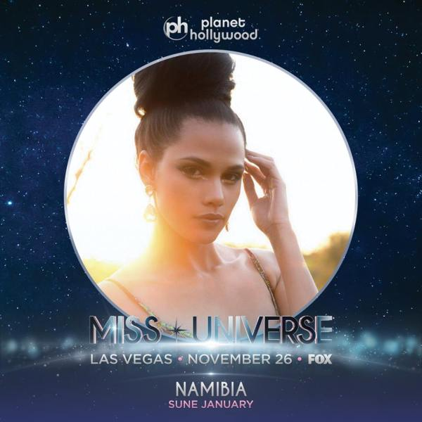 Miss Namibia Sune January
