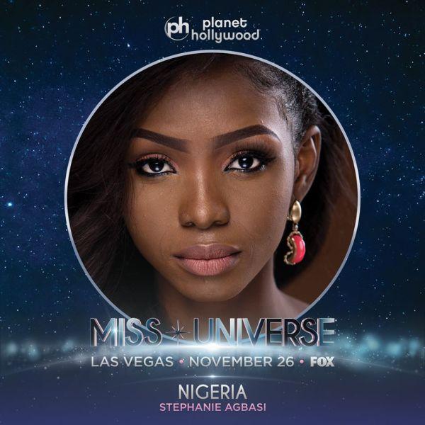 Miss Nigeria Stephanie Agbasi