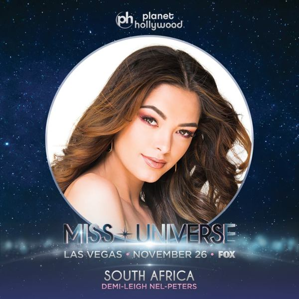 Miss South Africa Demi-Leigh Nel-Peters