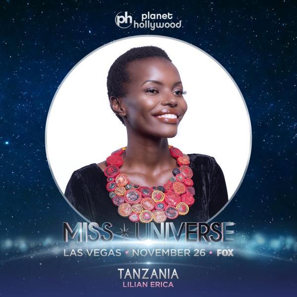 Miss Tanzania Lilian Maraule